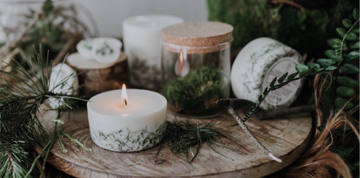 petite bougie munio candela mousse d irlande parfum naturelle soja