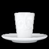 T021401 tasse expresso visage delicieux gourmand mug emotion tassen 58products