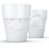 T012701_mug set tasse humeur grognon espiègle vaisselle porcelaine visage tassen58
