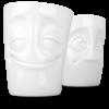 T012801_Mug sans anse set humeur joyeux perplexe vaisselle visage tassen