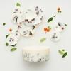 giftbox framboise feuille de myrtille parfum lavande munio candela cire de soja