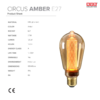 ampoule led circus amber nud collection fiche technique