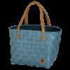color block bleu gris anse caramel cabas de courses handed by éco reponsable(4)