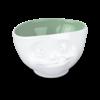 bol 500ml délicieux intérieur vert pastel face visage tassen