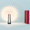 LITO mini lampe livre noir rouge sur fond bleu cosmo design