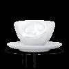 tasse à café heureux avec anse vaisselle visage tassen58 avec sous tasse(1)