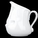 T013201_pot à lait cremier cocasse vaisselle visage tassen porcelaine
