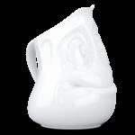 T013201_pot à lait cremière cocasse vaisselle visage tassen porcelaine