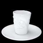 T021401 tasse expresso visage delicieux gourmand mug humeur tassen 58products