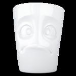 T018401_Mug_visage humeur perplexe triste pas content tassen58products porcelaine