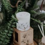 bougie 515ml parfum nature munio candela cire soja sans OGM