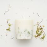 bougie parfum naturel mousse d'irlande senteur nature munio candela