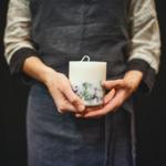 bougie munio candela cire soja fait main parfum naturel