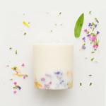Bougie parfumée rose wild flowers munio candela fait main
