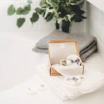 Munio candela galets senteur parfumé plantes salle de bain odeur