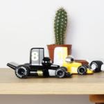 voiture verve velocita noir et jaune collection playforever toys