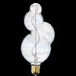NUD ampoule bubble éteint bulle de savon LED filament