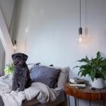 NUD collection lampe de chevet douille fonte ampoule ambiance