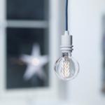 Flat exit ampoule plate filament LED nud collection douille bolt blanc