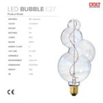 ampoule filament bubble NUD collection fiche technique