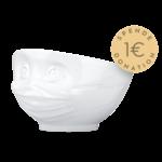 Bol 500ml confiant blanc masque corona virus donation