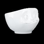Bol 500ml gourmand blanc lèche ses babines vaisselle tassen