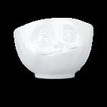 Bol 500ml délicieux blanc visage humeur vaisselle tassen