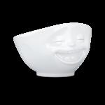 bol 500ml rieur blanc vaisselle visage humeur tassen