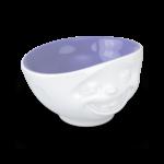 bol 500ml blageur intérieur violet lavande vaisselle porcelaine tassen