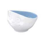 bol 500ml reveur intérieur couleur bleu pastel de coté vaisselle tassen
