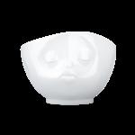 bol 500ml bisou face blanc vaisselle visage tassen chez cosmo design