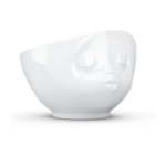 Bol 500ml bisou blanc visage humeur tassen58 (1)
