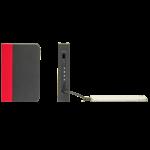 LUMIO mini lampe livre gris rouge recharge portable i-phone