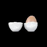 coquetiers N°2 boudeur délicieux gourmand oeuf à la coque tassen