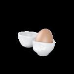 coquetiers n°2 ste plaît délicieux de haut vaisselle visage tassen