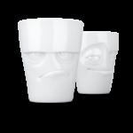 Mug set grognon espiègle sans anse 350ml vaisselle tassen