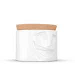 boite de conservation humeur jovial coté porcealaine couvercle liège tassen58