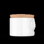 boite de conservation visage jovial vaisselle tassen emotion couvercle liège