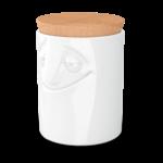 boîte de rangement alimentaire porcelaine visage charmant vaisselle Tassen