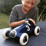 voiture Bruno racing car bleu metal jouet garcon playforever collection
