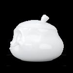 sucrier visage humeur doux en porcelaine de Tassen de coté