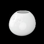 vase rond visage amusé rigolo et gros yeux de en haut vaisselle humeur tassen58