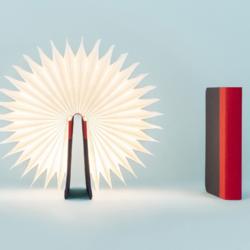 lumio mini lampe livre noir rouge