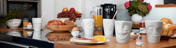 Tassen mug visage humeur petit dejeuner weekend