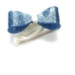 noeud pap bleu irisé
