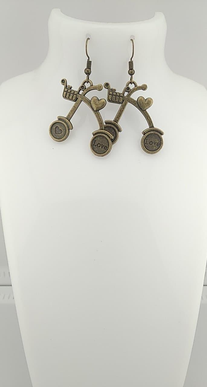 Boucles d\'oreilles Bronze