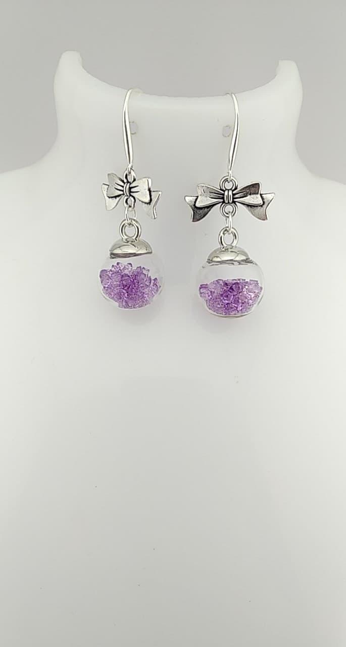 Les perles violettes