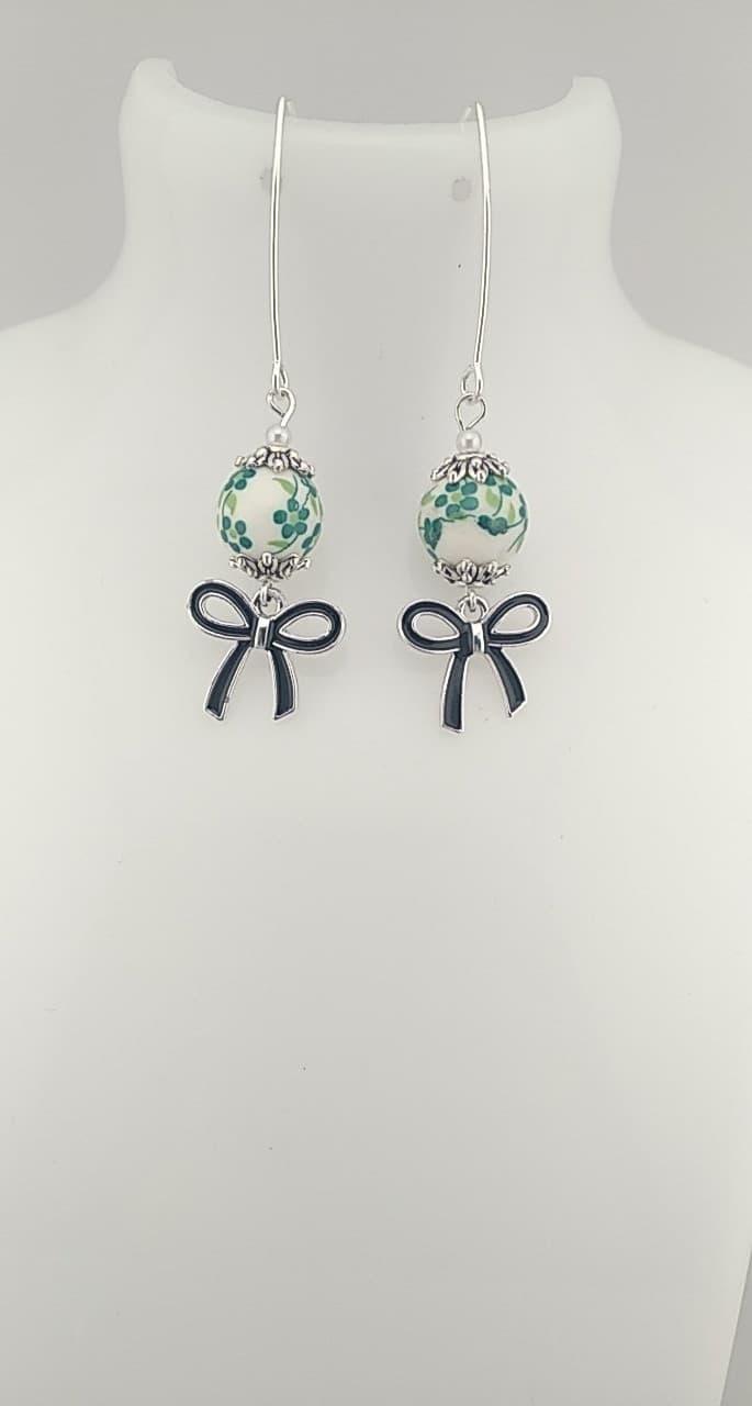 Perles chinoise vert