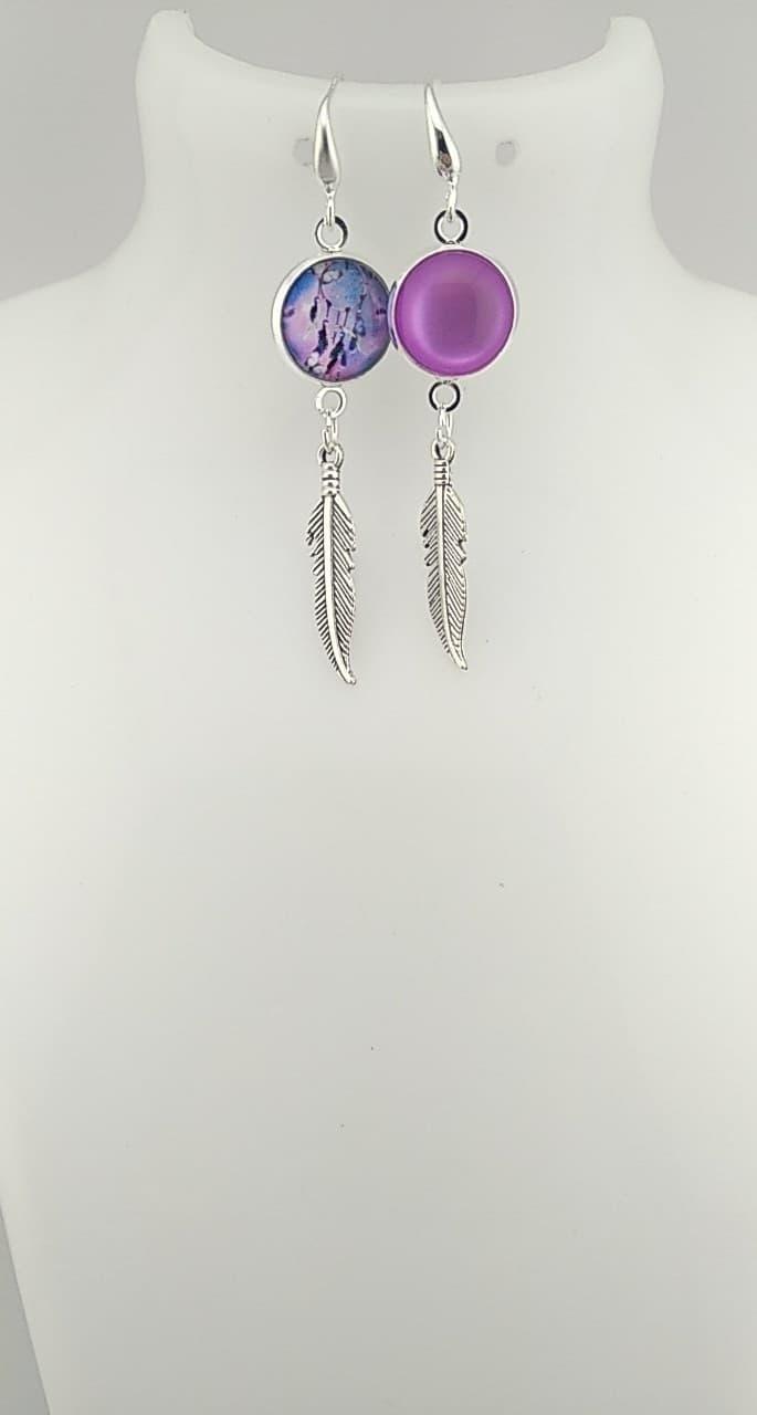 Cabochon violet