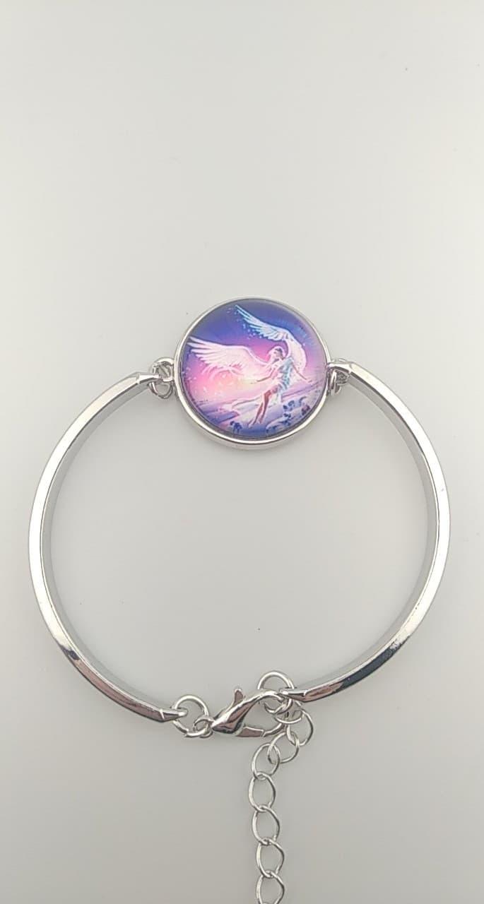 Bracelet Cabochon ange